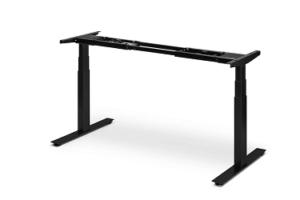 Black Ergonofis standing desk frame