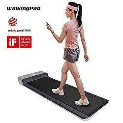 Woman walking on Walking Pad A1 treadmill