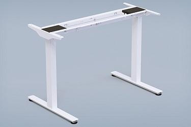 iMovR standing desk base in white