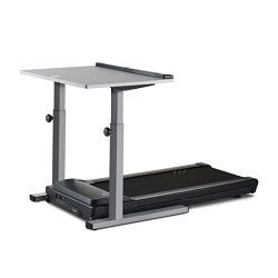 Lifespan DT5 desk with manual height adjustment featuring locking screws