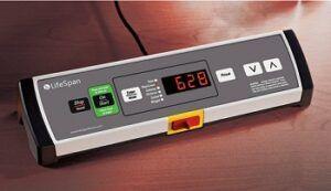 LifeSpan treadmill desktop console