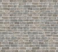Rows of grey brickwork
