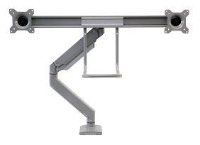 iMovR dual monitor mount with adjusting handle